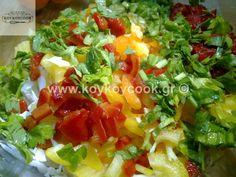 ΠΟΛΙΤΙΚΗ ΣΑΛΑΤΑ – Koykoycook Cobb Salad, Salad Recipes, Lunch, Food, Eat Lunch, Essen, Meals, Lunches, Yemek