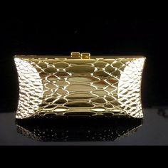 1469 goldene Schlange muster metall fall Dame Mode Braut Party Night clutch abendtasche handtasche box IN FREIER VERSAND //Price: $US $35.00 & FREE Shipping //     #cocktailkleider