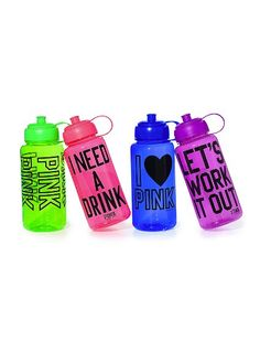 These waterbottles can double up as a accessory as well as keep you hydrated in the hot sun!