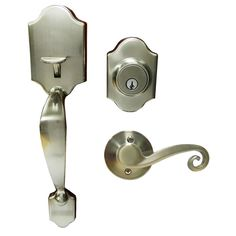 Gatehouse 0.6-in 160-Degree Satin Nickel Entry Door Viewer