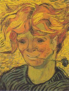 Znalezione obrazy dla zapytania van gogh portrait of a peasant