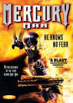 Mercury Man Cover Poster Art