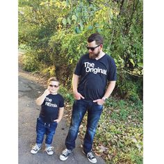 "KaAn's Designs on Instagram: ""Our first Daddy son duo share!! I love it!  #theorignal #theremix #kaansdesigns"""