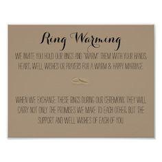 Ring Warming Sign More