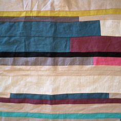 Colorblock #DIY blanket! #designeveryday