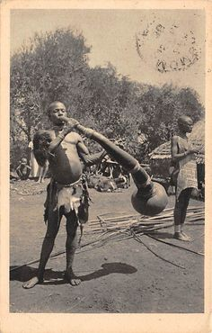 A Luo Tribe Trumpeter, Kenya 1938