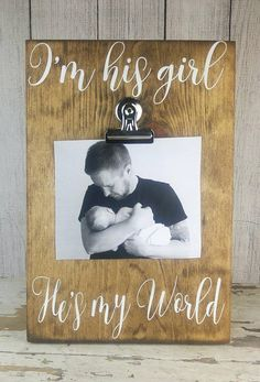 Fathers Day Gift from Daddys Girl Daddy Picture Frame Fathers Day Photo Gift from Daughter Dad Daughter Fathers Day Daddys Little Girl Rachel&FathersDay Fathers Day Pictures, Fathers Day Photo, First Fathers Day Gifts, Fathers Day Presents, Daddy Gifts, Fathers Day Ideas, Kids Fathers Day Crafts, Fathers Day Frames, Grandpa Gifts