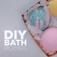 Check out Easy DIY Bath Bombs Recipe *NOW with Tips & Tricks* at https://diyprojects.com/make-bath-bombs-diy/