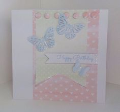 Card created by Julie Hickey using the Simply Chic Paper Pad and Candi.