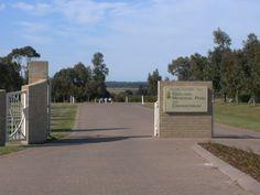 Geelong Memorial Park and Crematorium - entrance: Memorial Park online at Geelong Cemeteries Trust http://www.gct.net.au/