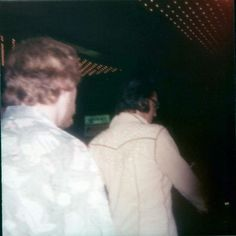 August 1974 - Elvis walking to his limo. He will 'pop' through the roof of His limo - Las Vegas