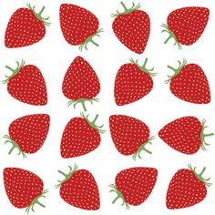Fitted Cot Sheet  Strawberry Fields  Raenne Exclusive by raenne