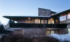 Villa Bisig, Sihlsee, Switzerland Designed by Philipp Architekten - Anna Philipp