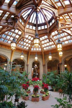 Wintergarden Biltmore Estate