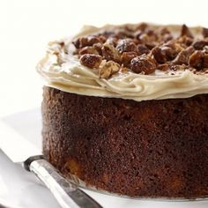 South African Carrot Cake made with Amarula liqueur