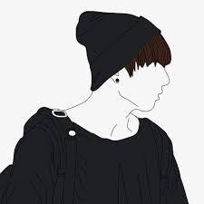 Image result for jungkook line art