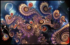 love the colors on this fractal.  By Jack Cooper