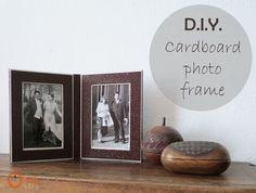 Ohoh Blog: DIY Cardboard photo frame