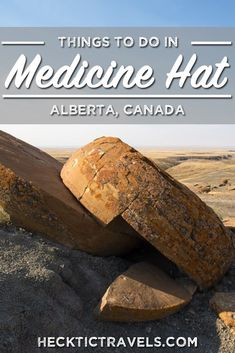 In Alberta, Canada there are plenty of things to do. This guide to the small area of Medicine Hat will have you ready to book your next adventure there. Things to do in Medicine Hat. Things to do in Alberta Canada. HeckticTravels.com #travel #canada.