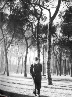 Pio Baroja, 1950 (Foto: Nicolás Müller).
