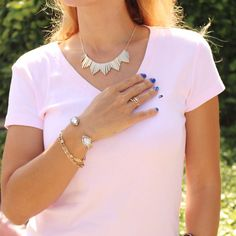 """Sign up at rocksbox.com and use the code """"vaneberlinxoxo"""" for one free month of gorgeous designer jewelry"""