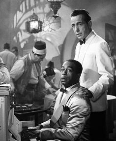 "noblecustom: "" I envy anyone who has not seen Casablanca – it is one of the very best. Bergman and Bogart. Famous Movies, Old Movies, Vintage Movies, Great Movies, Old Hollywood Stars, Hooray For Hollywood, Classic Hollywood, Hollywood Glamour, Casablanca Movie"