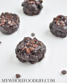 Flourless Chocolate Brownie Bites - My Whole Food Life