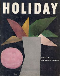 Vintage Holiday Magazine November 1960 Many Advertisements Volkswagon Chevy Fiat AMF SAF Boeing Avail. In Store @ Book Design, Cover Design, Visual Diary, Book Layout, Vintage Travel Posters, Vintage Holiday, Grafik Design, Colorful Pictures, Vintage Advertisements