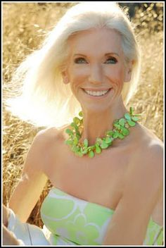 Valerie Ramsey - Mother of six who started writing and modeling in her 60's....she's an inspiration!