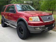"""2005 Ford Expedition - 17x8.5 0mm - Method MR305 - Suspension Lift 3.5"""" - 35"""" x 12.5"""" Lincoln Aviator, Ford Excursion, Ford Expedition, Ford Explorer, Edc, Truck, Cars, Goal, Xmas"""