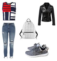 """Unbenannt #22"" by ranbe on Polyvore featuring Mode, Tommy Hilfiger, River Island, adidas und MCM"