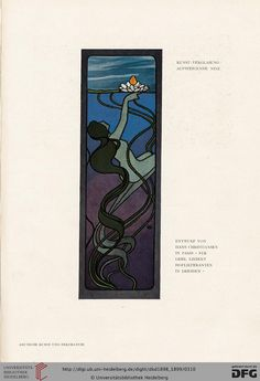 Deutsche Kunst und Dekoration [German Art and Decoration] magazine, Volume 3, 1898-99. Art nouveau.
