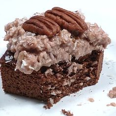 German Chocolate Cake by Food Stories