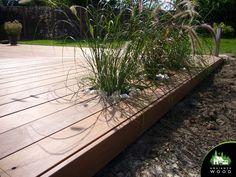 Terrasse Ipe de 70m² – Ambiance Wood Plants, Gardens, Wood Construction, Planters, Plant, Planting