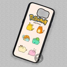 Cute Anime Pushemon Pokemon Pocket Kittens - Samsung Galaxy S7 S6 S5 Note 7 Cases & Covers