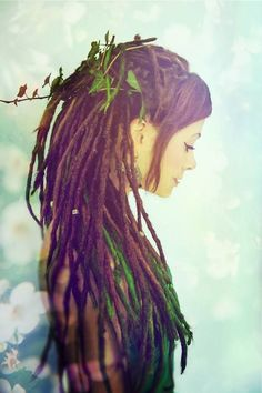 i could never pull of dreads but i am so intrigued by them
