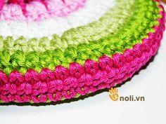 Chart móc túi dâu tây ngọt ngào đốn tim chị em chúng mình Crochet Handbags, Crochet Bags, Charts, Projects To Try, Ems, Stitch, Purses, Pattern, Handmade