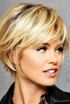 Wig Features: Heat Friendly See Heat Friendly Care Full side sweeping fringe an