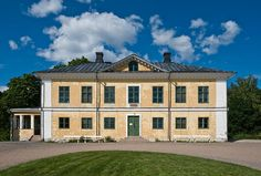 Brinkhall Manor (1790) in Turku - Architecture in Turku Picture Gallery - Photo Gallery - Images