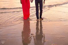 Tamara + Bank | Romantic Currumbin beach couples session | White Fox Studios
