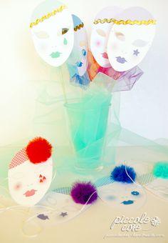 Piccolecose: #DIY #Carnevale. Decorazioni di #Pierrot
