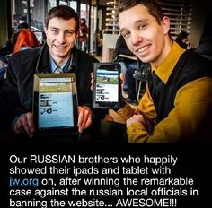 Russian brothers, continue to pray for them