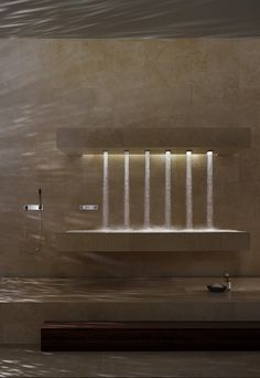 Horizontal Shower by Dornbracht
