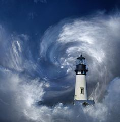 lighthouse with clouds Lighthouse Lighting, Lighthouse Painting, Cool Pictures, Cool Photos, Beautiful Pictures, All Nature, Amazing Nature, Tenerife, Beacon Of Light