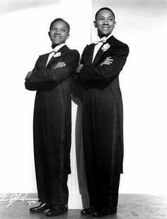 """Sarge"" Harold Nicholas fromThe Nicholas Brothers, Fayard and Harold c. 1936, was Married to Dorothy Daindridge,imdb.com"