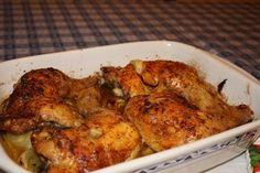 Savršeno hrskavo pile koje možete praviti sa ili bez povrća. Sastojci 1 prepolovljeno pile ili bataci i karabataci 300 gr… more →