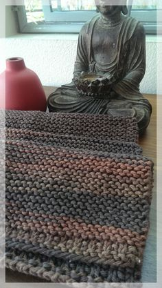 Modern Hand Knit Dish Cloths Rags Hand by LilRedKnittingHood, $18.00