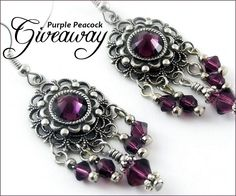 Enter Jewelry #Giveaway to win gift card to Purple Peacock Jewels by 11:59pm EST on July 20, 2013.