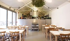Rochelle Canteen | London - Rochelle Canteen houses artists and fashion brands and offers a homey breakfast and lunch.