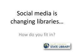 Branch exchange social media is changing libraries